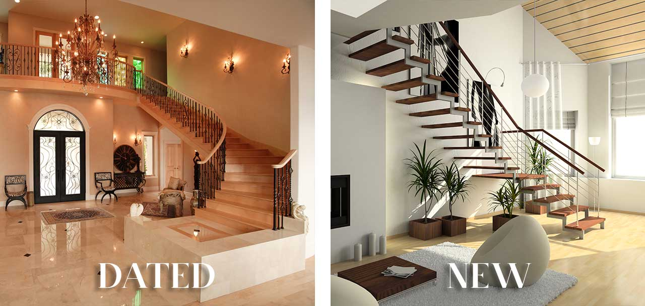 Paradise Valley Luxury Real Estate Dated versus New