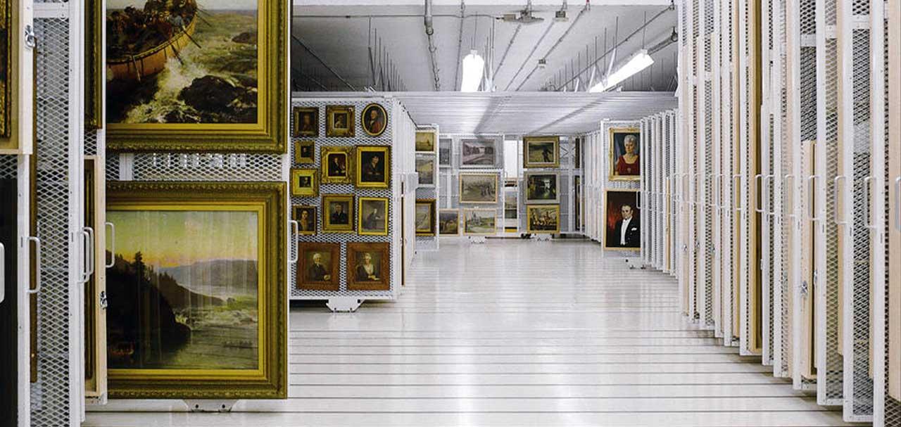 Fine art and luxury goods storage