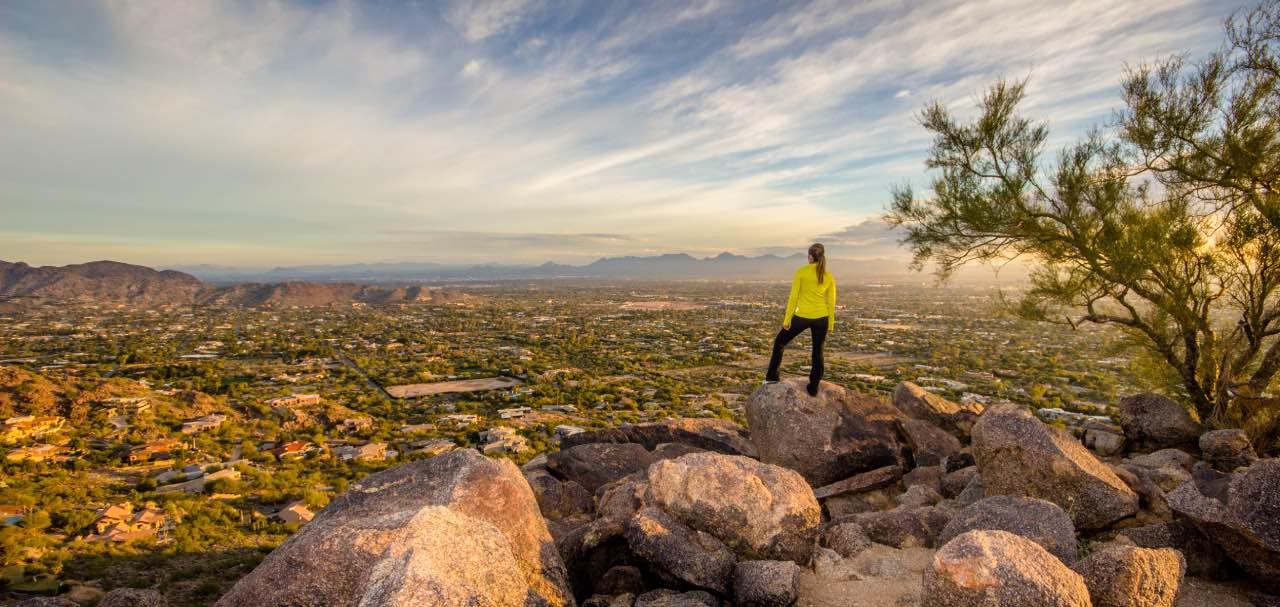 Hiking Camelback Mountain Arizona