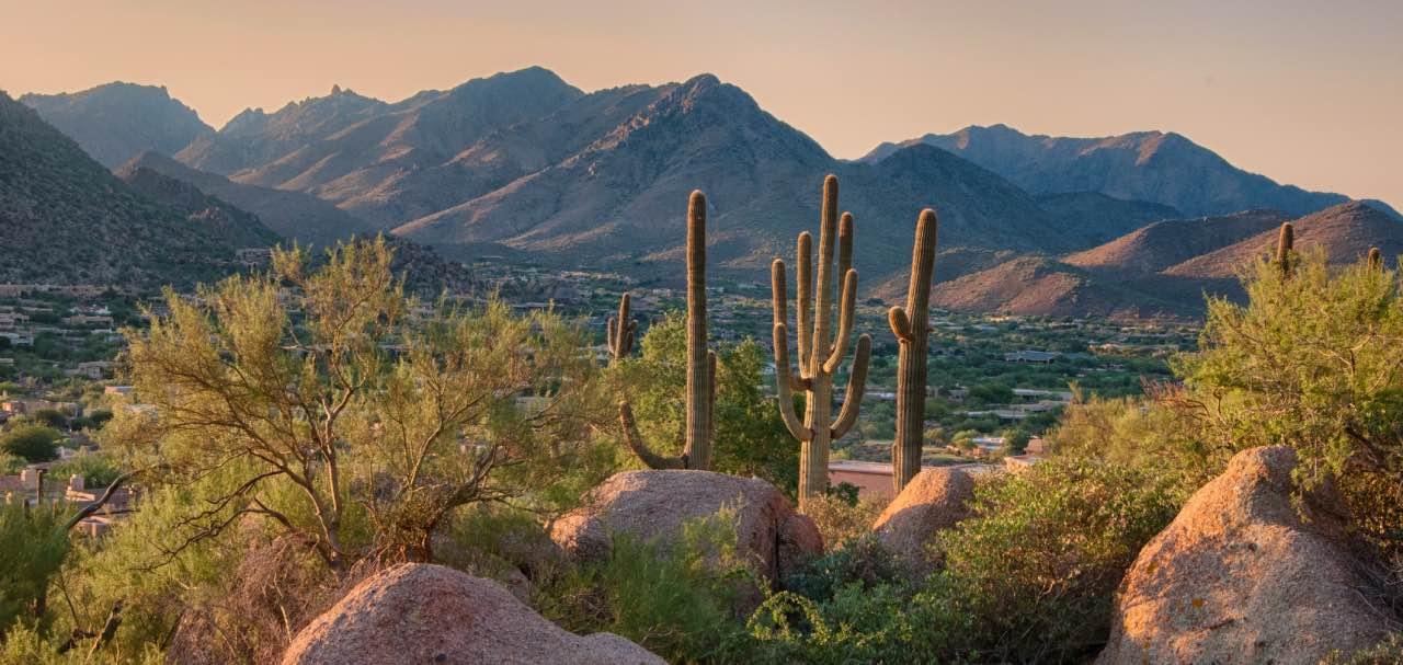 Arizona Desert Hiking Trail