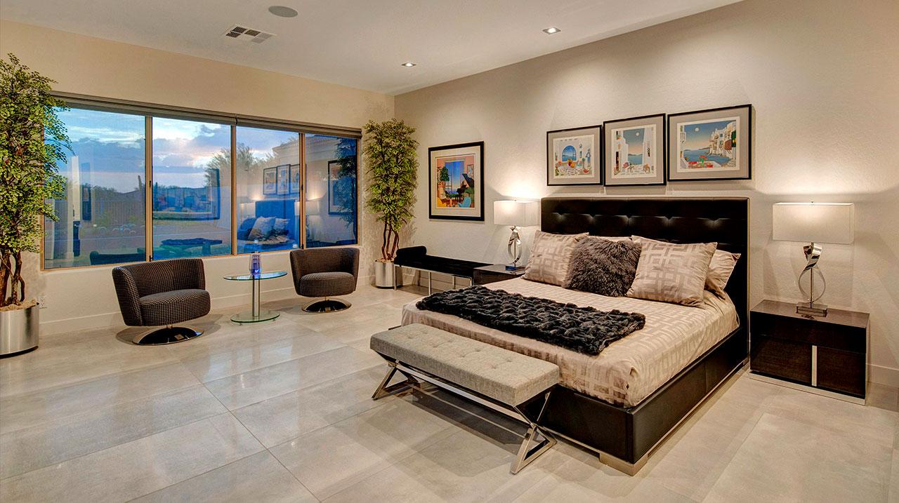 Smart Home Luxury Interior Bedroom Lighting