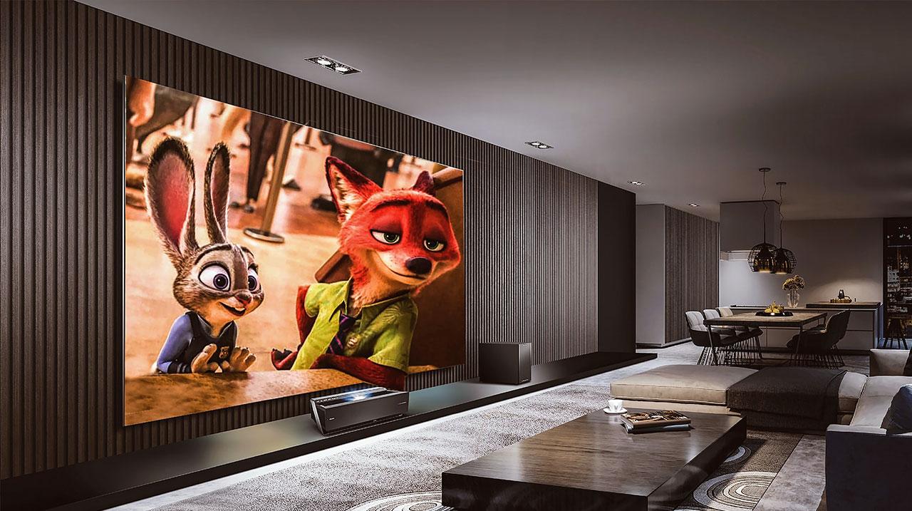 Smart Home Luxury Interior Entertainment System